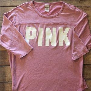 Pink VS stadium tee